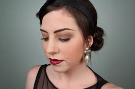 the great gatsby 1920 s inspired makeup tutorial