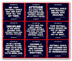 Inspirational Collages Motivational Quotes About Softball