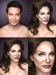 the makeup artist showed off his transformations on insram with before and after photos