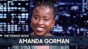 Amanda Gorman Will Run for President in 2036 | The Tonight Show Starring  Jimmy Fallon - YouTube