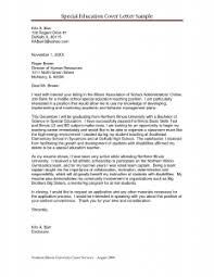 Collection Of Solutions Special Education Teacher Cover Letter