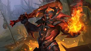 images dota 2 doom demons fantasy fire games