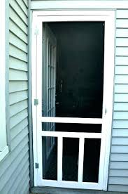 screen door how to install a 30 inch storm x 78 canada in