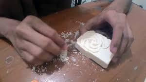 Soap Carving Designs Using Perla Rose Soap Carving Timelapse
