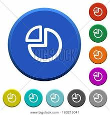 Pie Chart Round Color Vector Photo Free Trial Bigstock