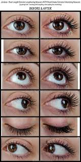 best mascara for length. jordana best length extreme lengthening mascara \u0026 volume volumizing - before afters, pics, swatches, reviews for