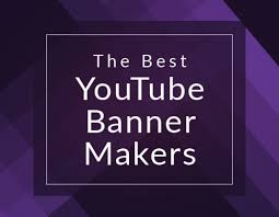youtube channel banners the best youtube banner makers for next level channel art biteable