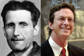 george orwell got a b at harvard when michael crichton submitted  orwell crichton1