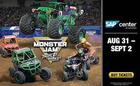 Monster Jam Triple Threat Series Sap Center