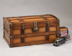 Steamer Trunk Furniture Maple Steamer Trunk