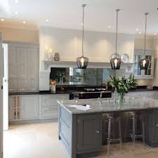 Antique Kitchens Antique Mirror Splashback In Kitchen Kitchens Pinterest