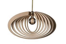 Amazoncom Elliptic Orbitwood Lampwooden Lamp Shadehanging Lamp