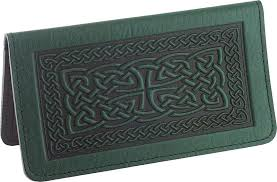 celtic braid checkbook cover free on orders over 50 at gryphon s moon