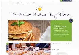 Food Recipe Template 20 Food Blog Themes Free Premium Templates Creativetemplate