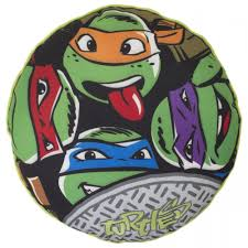 Ninja Turtle Bedroom Teenage Ninja Turtles Urban Round Cushion Great Kidsbedrooms