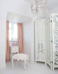 provencal white dressing stool in a beautiful dressing room shabby chic style bedroom beautiful shabby chic style bedroom