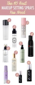here s a list of the 10 best makeup setting spray you