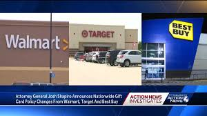 However, we recommend keeping the gift card until you are certain that items purchased with the card will not need to be returned. Walmart Target Best Buy Announce Gift Card Changes To Battle Scammers