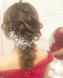 花嫁の次に主役でいたいんです長さ別結婚式お呼ばれヘアアレンジ