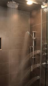 shower systems with rain head rain shower system spaces contemporary with jets ceramic tile