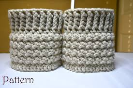 Boot Cuff Pattern Extraordinary The Amelia Boot Cuff Crochet Pattern Twolittlegirlsshop