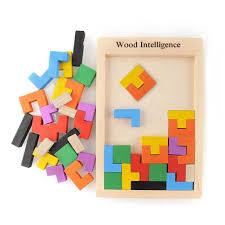 ful 3d wooden tangram brain teaser puzzle toys tetris game kids preschool intellectual development toy wooden jigsaw board from kepiwell7 12 16 dhgate