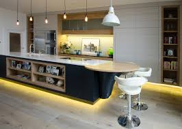 Led Lighting For Kitchen Kitchen Led Kitchen Ceiling Lights For Artistic Lighting Warm