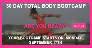 our 30day total body bootc starts monday september 17th join us every week there s one treadmill workout optional outdoor 3mile run walk jog