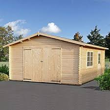 15x18 4 5x5 5m palmako extra wide single 44mm garage double doors