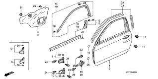 car door parts. Modren Car Honda Car INSIGHT Parts Section DOOR PANELS And Car Door Parts O