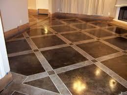 paint concrete floorsPatio Patio Painting Concrete Floors With Rectangle Cube Cement