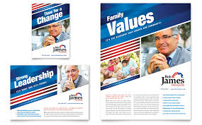 The Flyer Ads Political Campaign Flyer Ad Template Word Publisher
