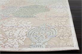 outstanding jaipur fables rug fables wistful machine made fl pattern art silk chenille ivory blue area