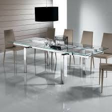 extended glass dining table. massimo extending glass dining table (160-240cm) extended d