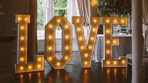 lighting letters. sparkle light up love letters by the word is lighting letters