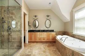 cost of high end bathroom remodel