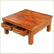 large oak coffee table exotic square coffee table with drawers attractive square wooden coffee table solid