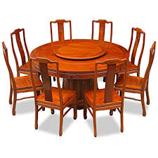 Asian dining room furniture Rosewood Image Unavailable Houzz Round Dining Set For