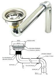 bathroom sink drain parts bathroom sink drain parts diagram best cleaner for kitchen medium size of