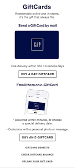 gap gift card check balance photo 1