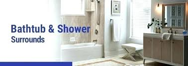 shower kits for clawfoot tubs home depot tub kit bathrooms awesome bathtub inserts bathroom design ideas