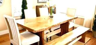 natural wood dining table set natural wood table live edge dining live edge dining room table live edge dining room table canada