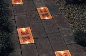 solar patio lights. Fine Lights Sun Brick Solar Patio Lights Throughout