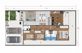 Possui garagem para 2 carros, 2 dormitórios,. Plantas De Casas Para Terrenos 10x20 Modelos E Dicas