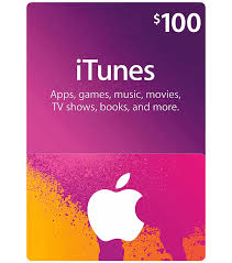 itunes gift card 100 us email