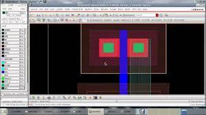 Inverter Layout Design Cadence Tutorial Cmos Inverter Layout