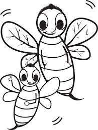 100% free spring coloring pages. Bee Coloring Pages Coloring Rocks