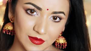 quick easy simple diwali look 2018 indian festival makeup tutorial