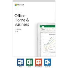 Microsoft Office 2019 Home And Business Compatible On Windows 10 And Apple Mac Os 1 Pc Or Mac