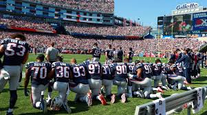 Image result for patriots taking a knee during national anthem meme